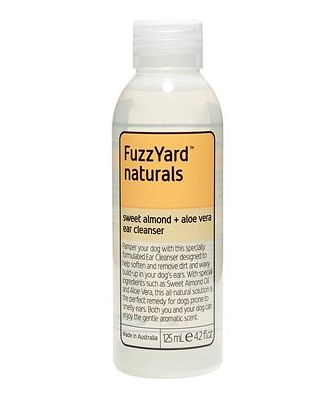FuzzYard Sweet Almond & Aloe Vera Ear Cleanser 125ml