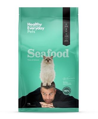 Healthy Everyday Pets by Pete Evans by Pete Evans Salmon Cat Food 1.5kg