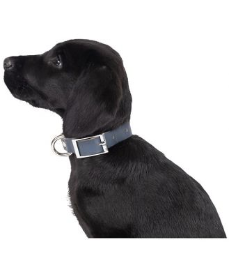 Mog & Bone Genuine Leather Dog Collar Navy Extra