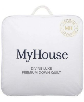 MyHouse Divine Luxe Double Bed Down Quilt White