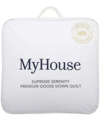 MyHouse Supreme Serenity Queen Bed Down Quilt White