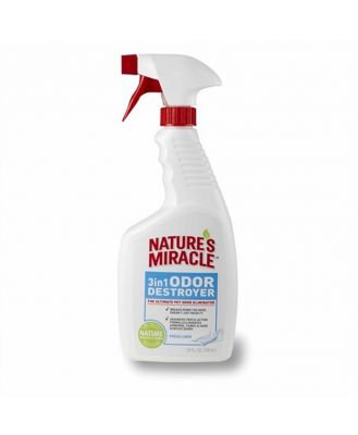 Natures Miracle 3 in 1 Odour Destroyer Linen 709ml