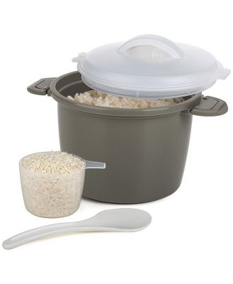 Progressive Prepworks Microwave Rice Cooker Set