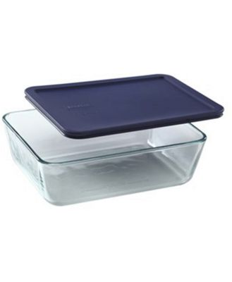 Pyrex Simply Store Rectangular Container 11 Cup/2.6L Blue