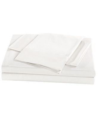 Royal Comfort 1000TC Bamboo Sheet Set King White