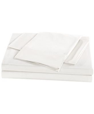 Royal Comfort 1000TC Bamboo Sheet Set Queen White