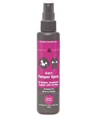 Rufus & Coco 4 in 1 Pamper Spray 150ml