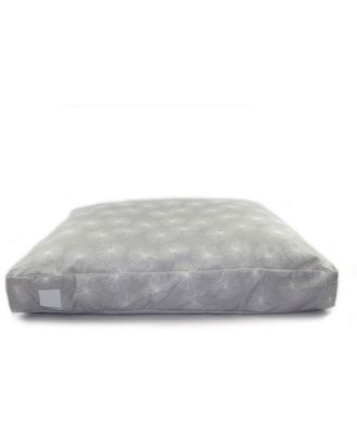 T & S Interior Floor Cushion Quilted Dandelion Grey