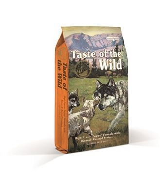 Taste Of The Wild Grain Free High Prairie Bison & Venison Puppy 13kg
