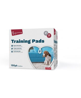 Yours Droolly Dog Training Pads 100 Pack