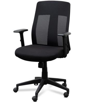Benson Mesh Office Chair - Black by Interior Secrets - AfterPay Available