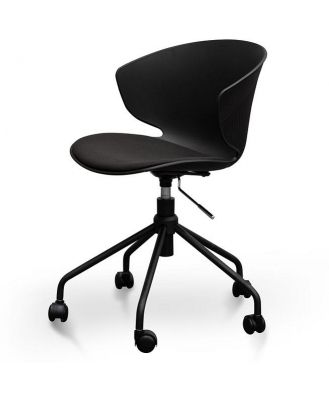 Betrillo Office Chair - Full Black by Interior Secrets - AfterPay Available