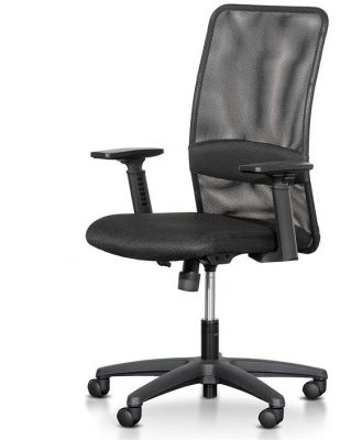 Elroy Mesh Office Chair - Black by Interior Secrets - AfterPay Available