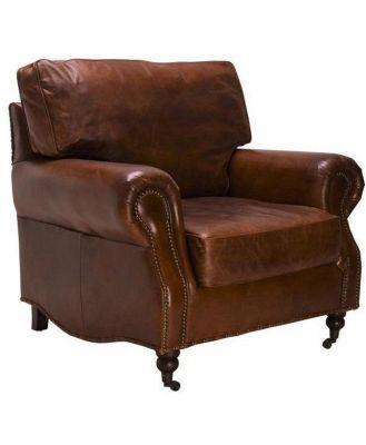 Vintage Leather Kent Armchair