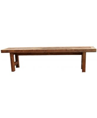 Recycled Wood Bench 180cm