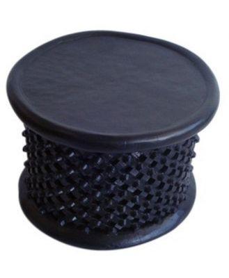 Bamileke Table/Stool Various Sizes, White / Approx.75cmDia