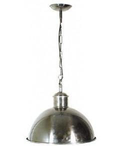 Boston Dome Pendant Antique Silver