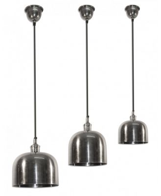 Delta Dome Hanging Lamp