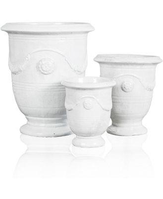 Garland French Style Urn White