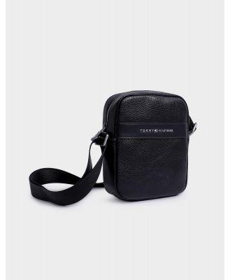 Modern Leather Mini Reporter Bag