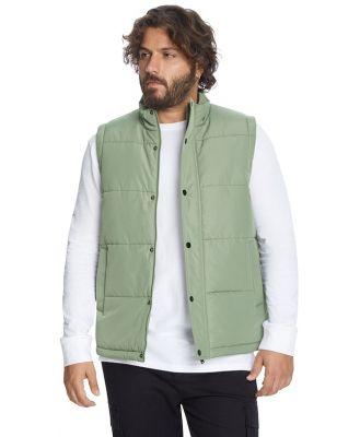 Johnny Bigg Carter Puffer Vest Sage 7 Xl