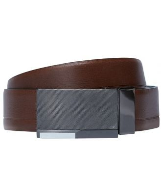 Johnny Bigg Florence Reversible Plate Belt Tan/Black 4446