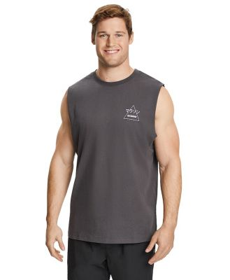 Johnny Bigg Harlow Muscle Tee Charcoal 3 Xl