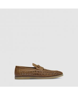 Johnny Bigg Harry Slip On Shoe Tan 9