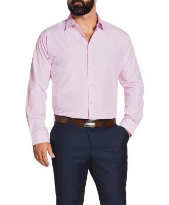 Johnny Bigg James Check Shirt Pink Xl