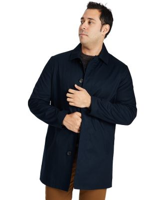 Johnny Bigg Marcus Water Resistant Mac Coat Navy 2 Xl