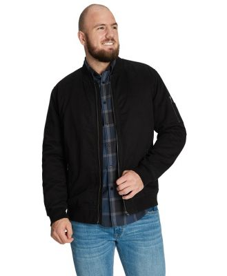 Johnny Bigg Neo Cotton Bomber Jacket Black Xl