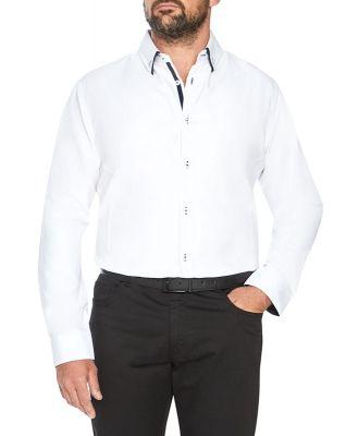 Johnny Bigg Primo Textured Shirt White Xl