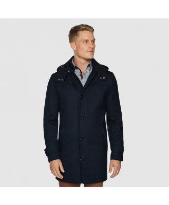 Johnny Bigg Wales Coat Navy Xl