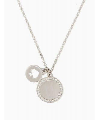 spot the spade pave charm pendant