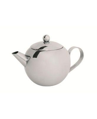 Avanti stainless steel teapot with laser etched infuser 500mL