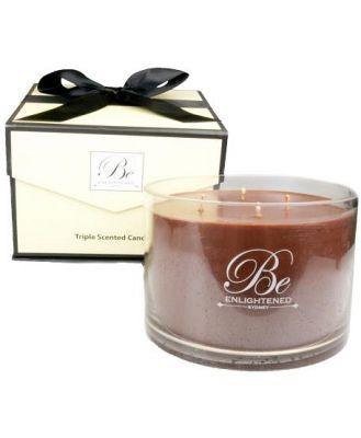 Be Enlightened Triple Scented Luxury Candle Cinnamon & Nutmeg