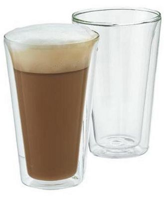 Bodum Canteen Double Wall Glass Large 0.4 Litre Set Of 2