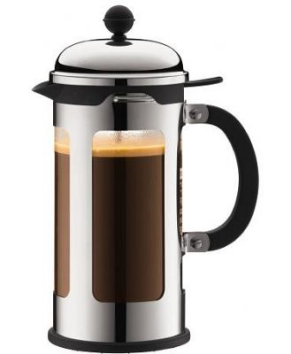 Bodum Chambord Coffee Plunger 3 Cup 0.35 Litre Shiny