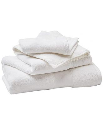 Cool Galah Regent Luxury White Bath Towel 143x76cm