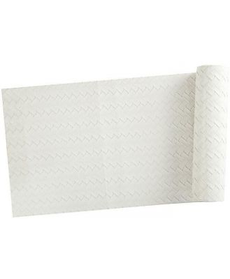 Maxwell & Williams Table Accents Leather Look Runner 30x150cm Ivory Plait