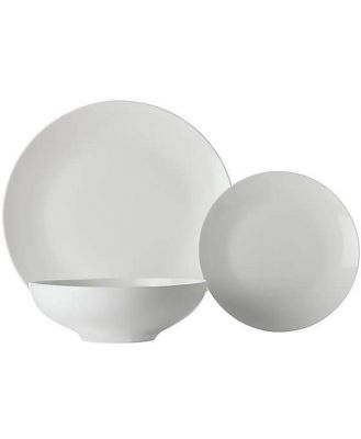 Maxwell & Williams White Basics 12 pce  Coupe Dinner Set Tribeca