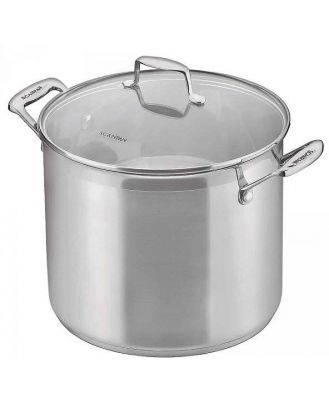 Scanpan Impact 11 Ltr / 26 Cm Stockpot With glass Lid