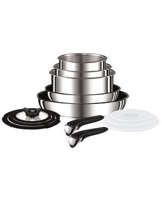 Tefal Ingenio Stainless Steel 13 Piece Set