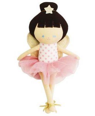 Alimrose Baby Fairy Doll Pink Stars