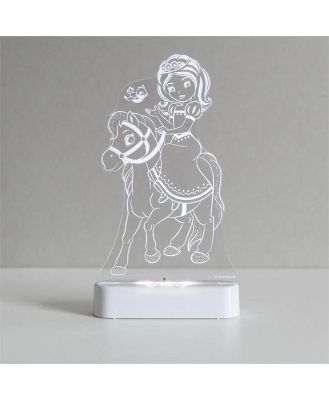 Aloka -  LED Sleepy Light - Princess&Pony - DUAL POWERED