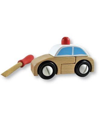 Discoveroo Build-A-Police Car