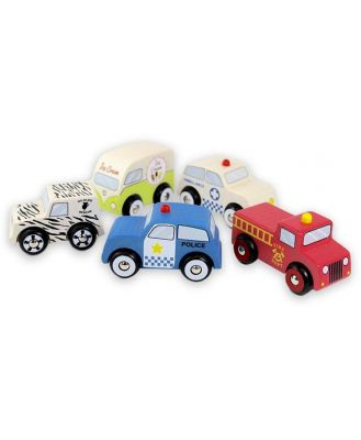 Discoveroo Emergency 5 Car Set