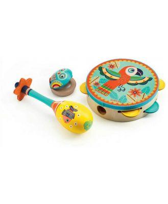 Djeco - Animambo Set of 3 instruments