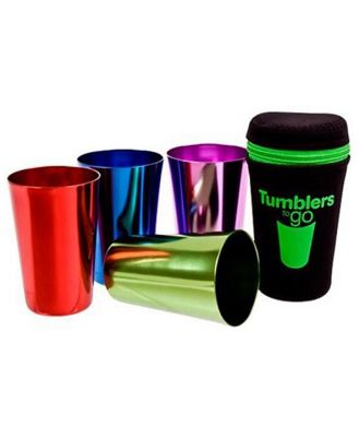 Stainless Steel Tumblers to Go 265ml Set 4