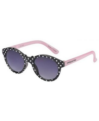 Frankie Ray Sunglasses - 0-18 months - Little Lulu ( Black + White Polkadot)